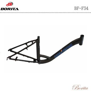 BORITA BF-F34 Black Color High Quality City Bicycle Frame