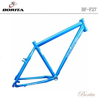 Borita BF-F27 Blue Customized Color New Design High Quality OEM MTB Bicycle Frame