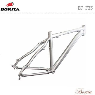 Borita BF-F33 Sliver/Customized Color OEM High Durable Road Bicycle Frame