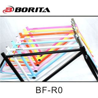 Cr-Mo Multicolor Frame BORITA BF-R0 / Fixed gear road bike frame
