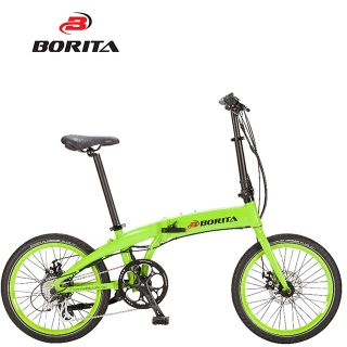 Borita New Model Compact+ High Quality Aluminum Alloy Popular Electric Bicycle