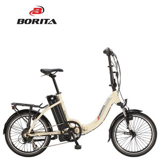 Borita New Model Wave High Quality Aluminum Alloy Popular Electric Bicycle