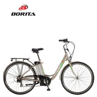 Borita Supply Popular 20inch Electric Bike Classical e City Bike for Women