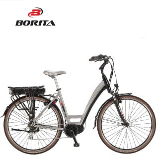 New Design White 700C Aluminum Speed Electric Charging Bikes