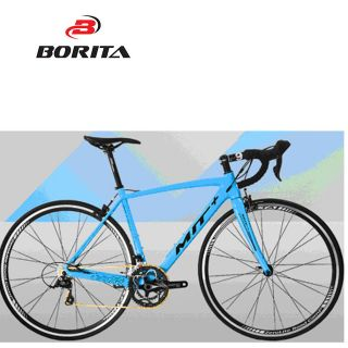 Borita High Quality 700C Carbon Frame Road Bike