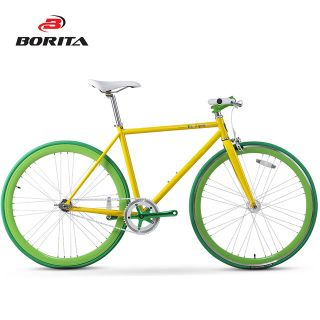 Borita OEM Colorful Life Fixed Gear Bike Fixie Road Bike