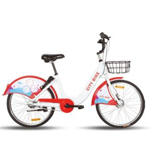 OEM Colorful Public aluminium alloy City Bicycle Rental Bike for Sharing